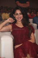 Pragya Jaiswal in Stunnign Deep neck Designer Maroon Dress at Nakshatram music launch ~ CelebesNext Celebrities Galleries 150.JPG