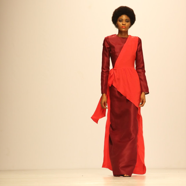 from the Tsemaye Binitie collection: simply red