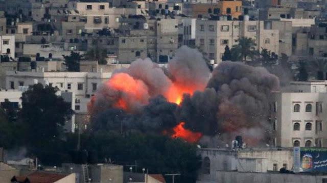 Allahu Akbar, Rudal Pejuang Palestina Meluncur, Pasukan Israel Kocar Kacir Ketakutan