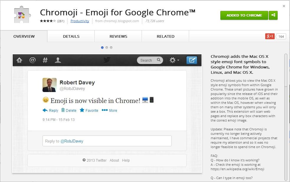 แสดง Emoji บน PC ได้ไม่ง้อ Mac ด้วย Chromoji   บล็อกจับฉ่าย