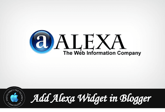 How to add alexa rank widget in blogger