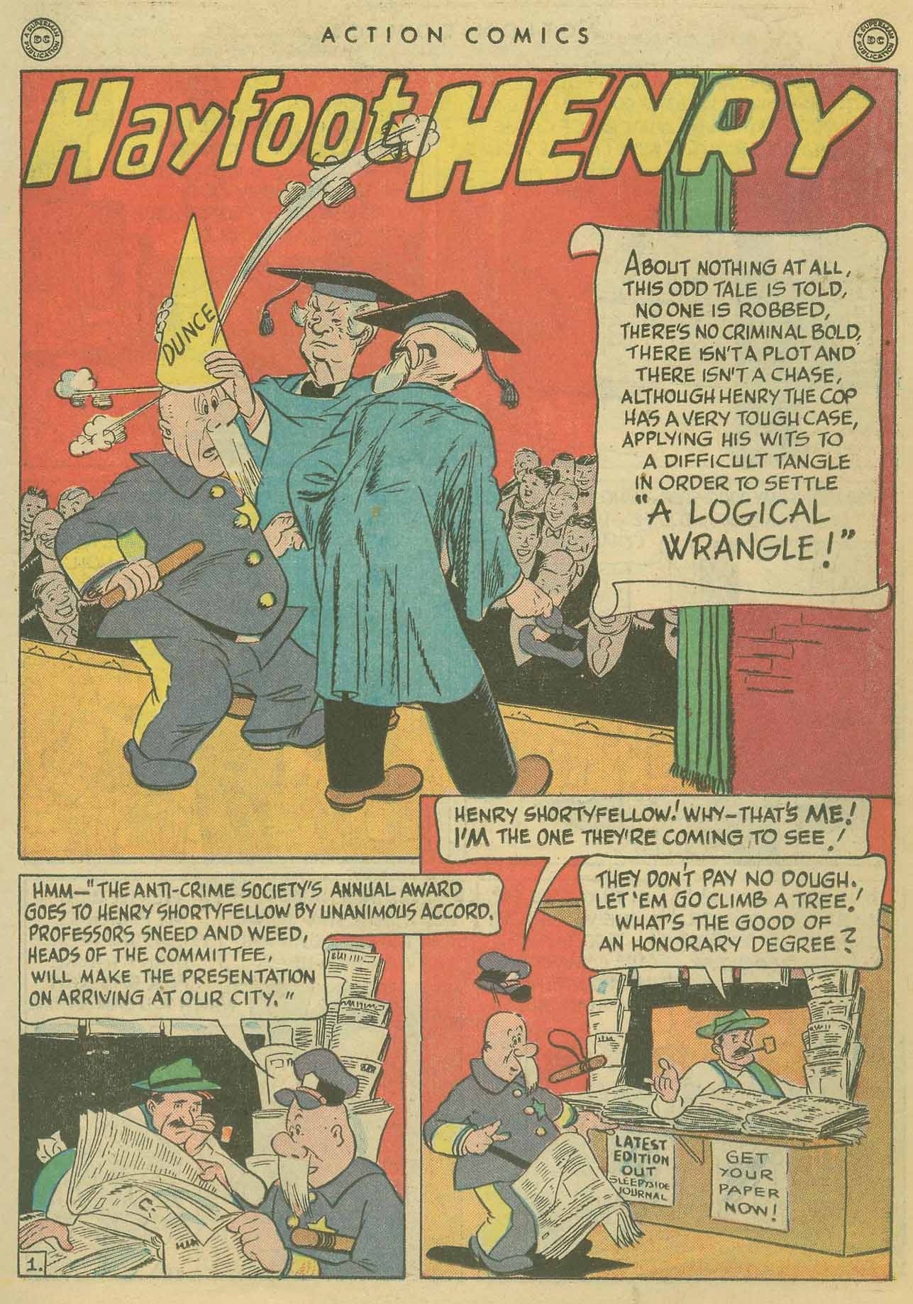 Read online Action Comics (1938) comic -  Issue #102 - 16