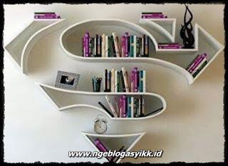 Gambar Rak Buku Yang Unik