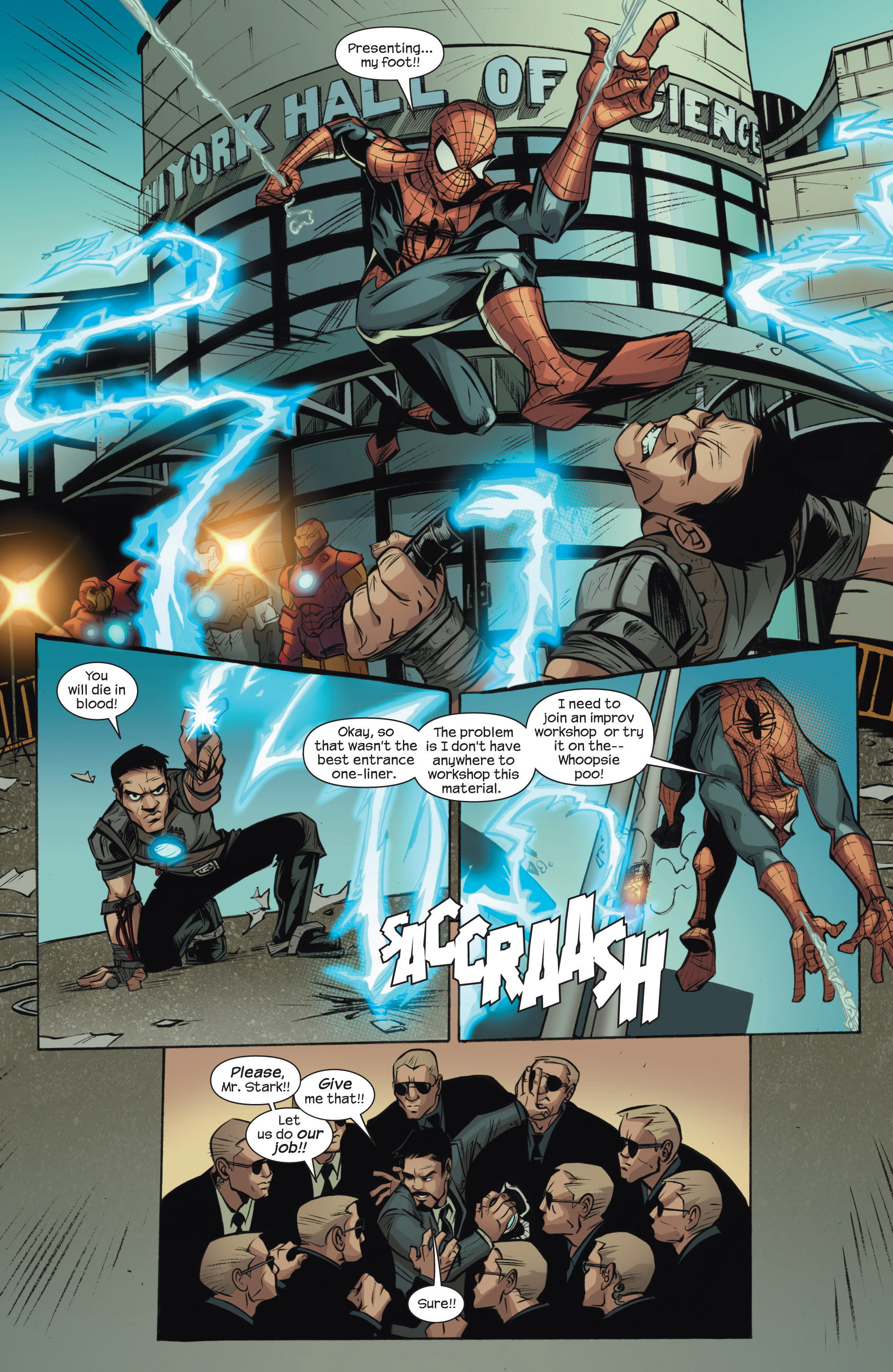 Read online Ultimate Spider-Man (2009) comic -  Issue #150 - 11