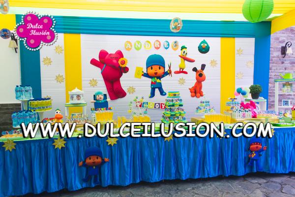 Decoracion Fiesta Infantil Pocoyo Dulce Ilusion Dulce Ilusion - Adornos-fiesta-infantil