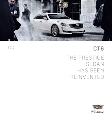 Downloadable 2016 Cadillac CT6 Brochure