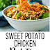 SWEET POTATO CHICKEN PAD THAI (Paleo - Whole30)