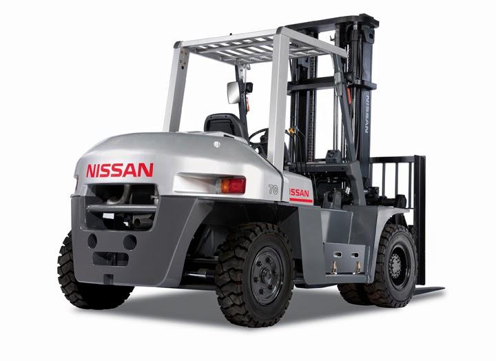 xe nang diesel nissan