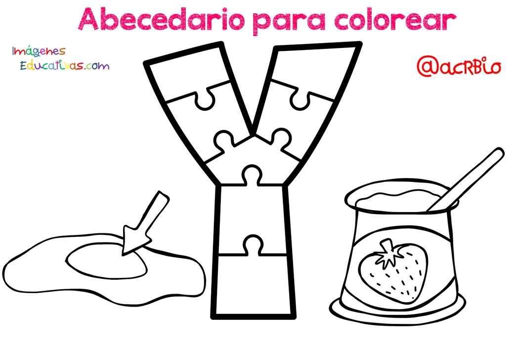 Alfabeto Para Colorear: SGBlogosfera. María José Argüeso: PARA COLOREAR