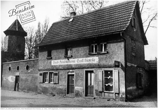 BIAB D_02_0018.jpg Brot und Feinbäckerei Emil Kienzle 1952, Bild zur Vrfügung gestellt von Ferdinand Woißik