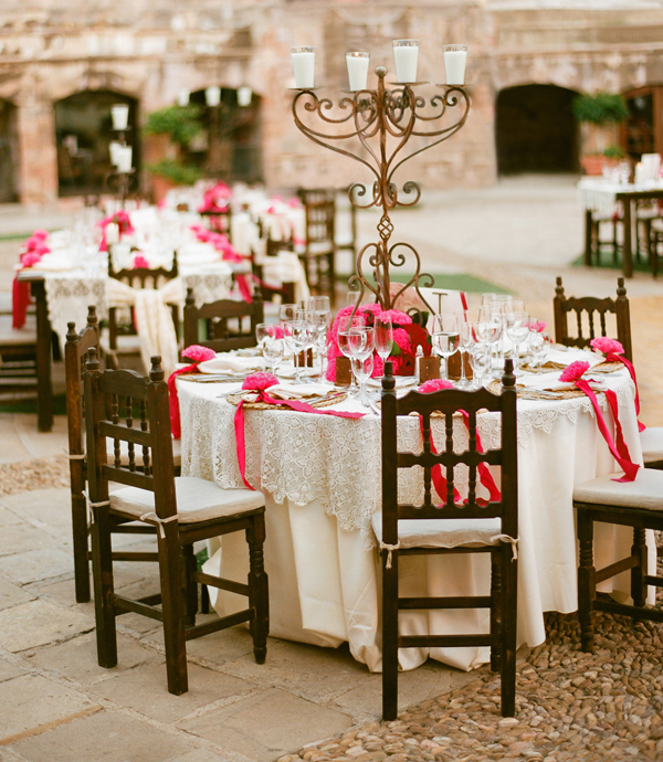 The Wedding Decorator: A Gorgeous Spanish Style Wedding
