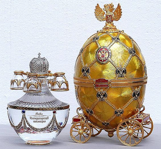 Vodka Imperial Collection Egg