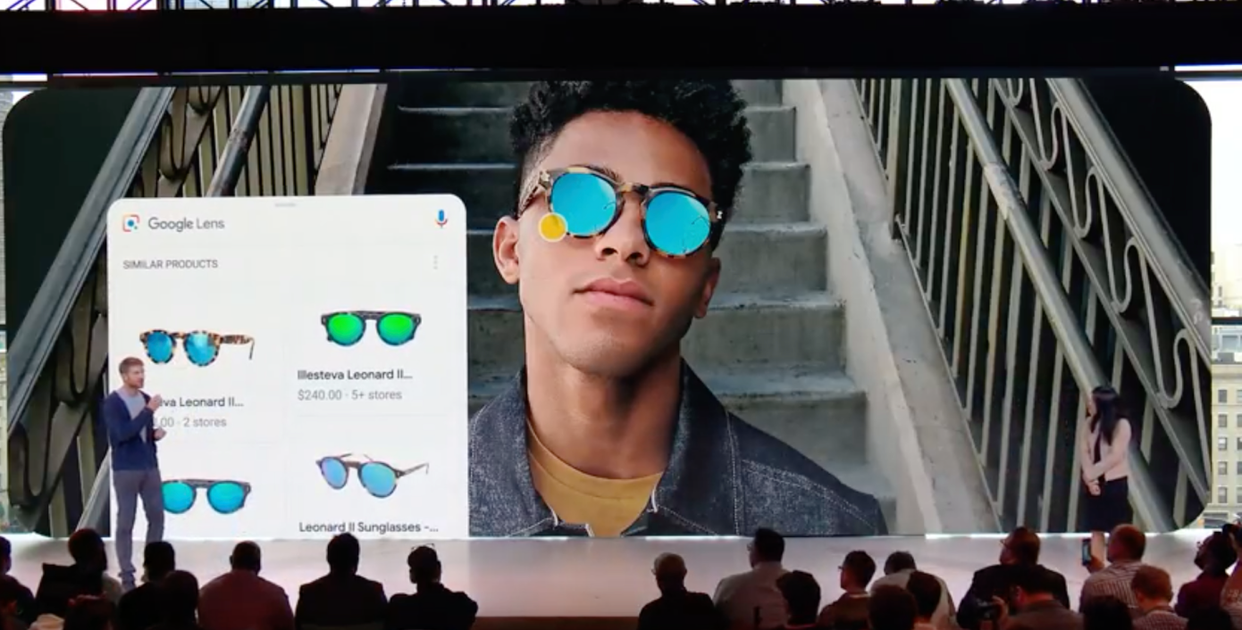 Google AR-AI Powered Image Search Engine: Click and Recognize the objects in photo