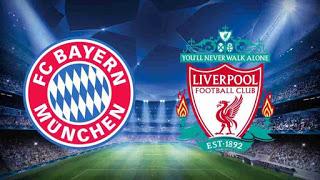 ملخص مباراة ليفربول و بايرن ميونيخ مباشر الآن في دوري ابطال اوروبا