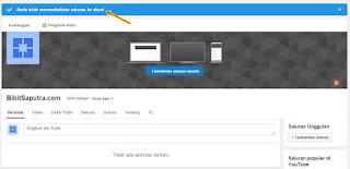 Cara Membuat Atau Menambah Saluran Baru Di Youtube