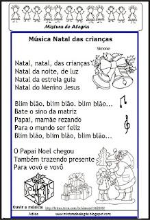 Música natal de crianças