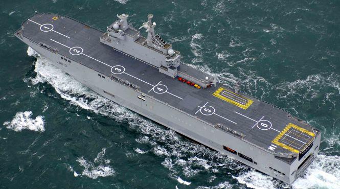 Rusia mengumumkan kelanjutan negosiasi dengan Mesir untuk peralatan Mistral