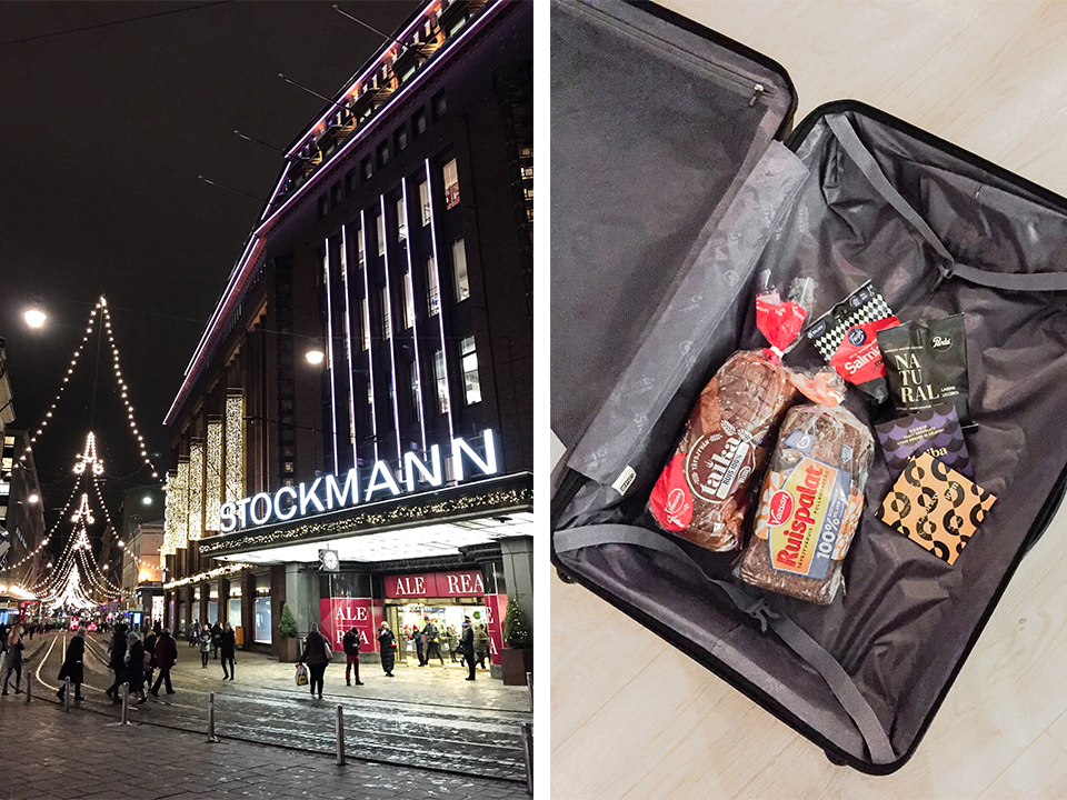 stockmann-christmas-lights-helsinki-finland-finnish-food-rye-bread-liquorice-chocolate