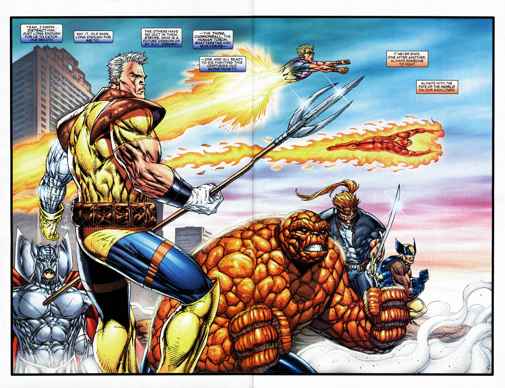 Read online X-Force (2004) comic -  Issue #6 - 5