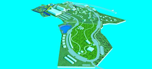Site Plan Wisata