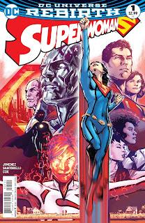 superwoman 1 rebirth cover