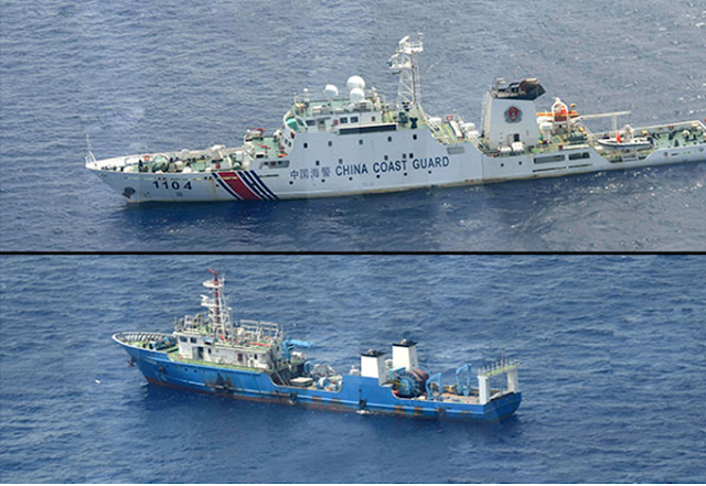 10 ships and more Chinese vessels spotted in Panatag Shoal