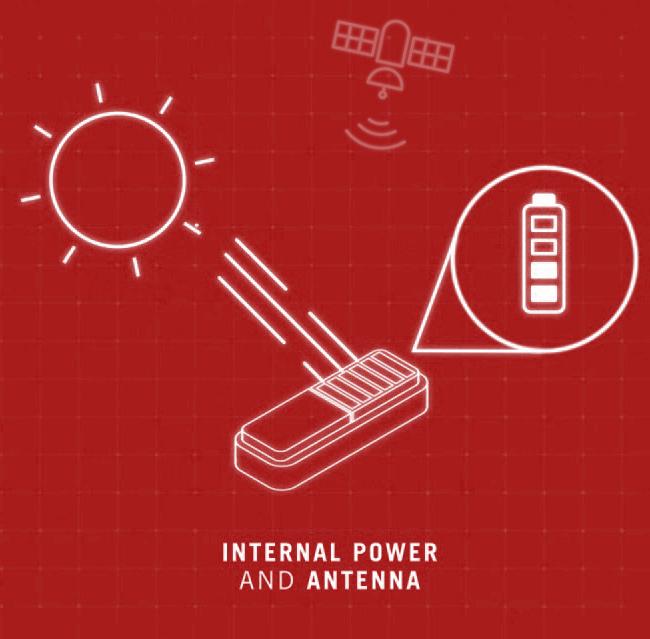 satelit tracker solar cell