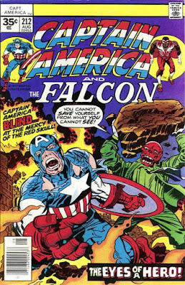 Captain America and the Falcon #212, the Red Skull