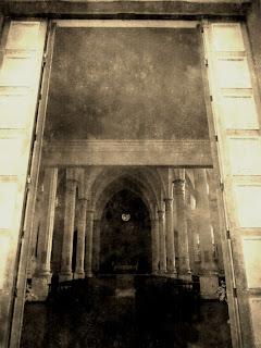 Entrada da Igreja Matriz de Marcelino Ramos