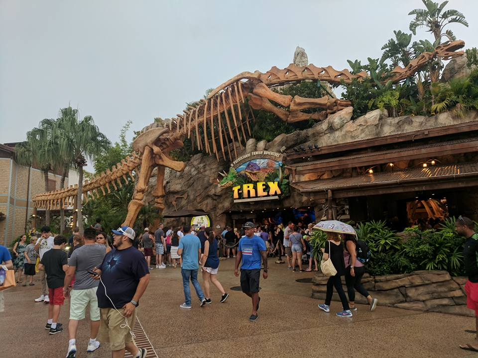 11 Things to do with Kids at Disney Springs Orlando, Florida  - T Rex build a bear