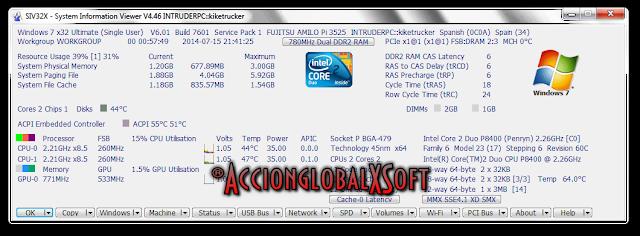 SIV (System Information Viewer) 5.41 | Completísima información acerca del hardware de tu PC