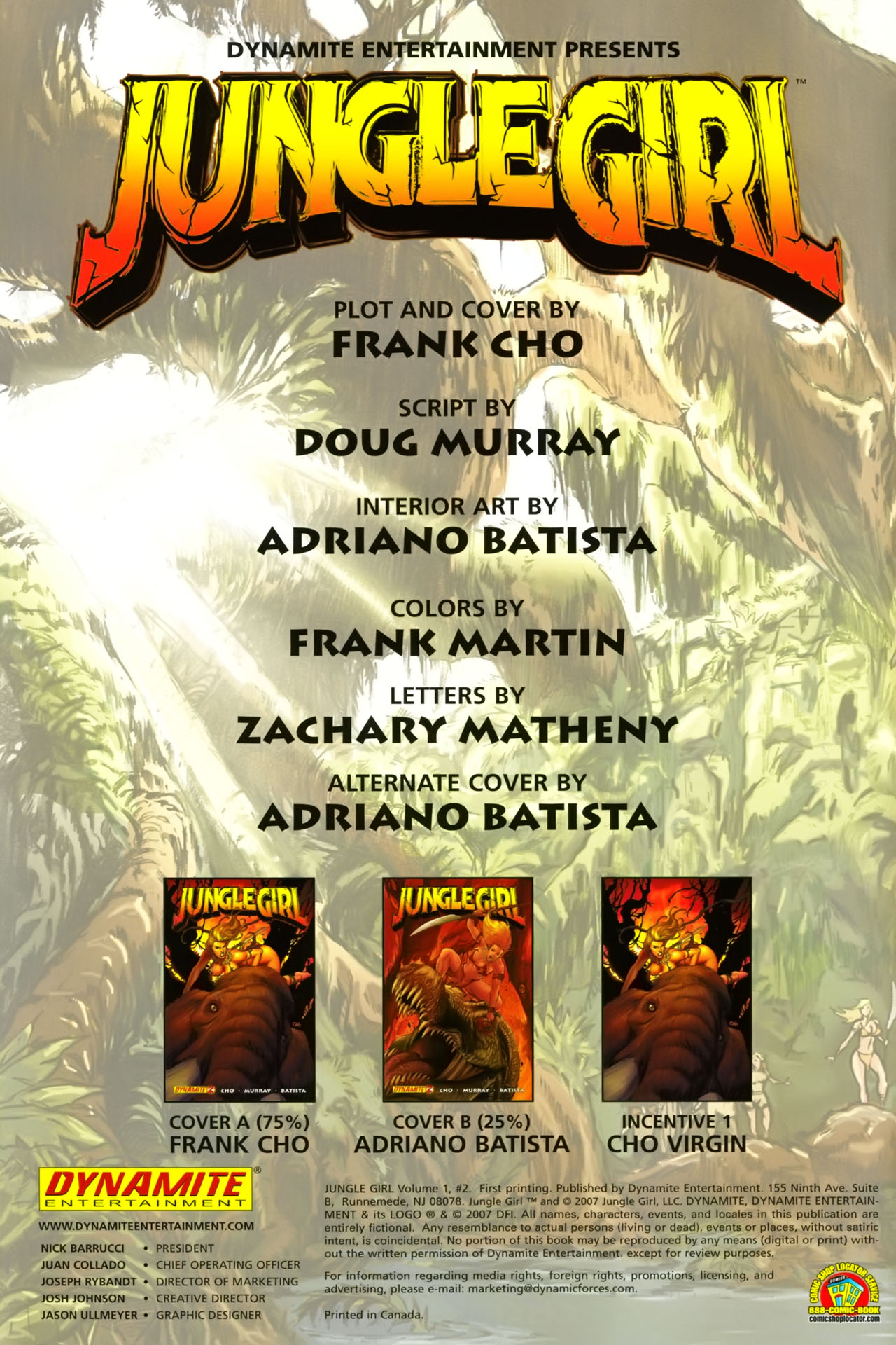 Read online Jungle Girl comic -  Issue #2 - 4