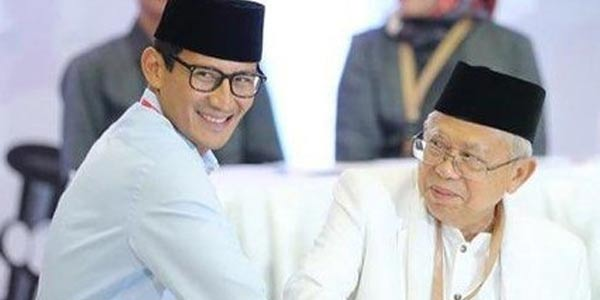 Debat Sandi vs Ma'ruf Berpeluang Gaet Swing Voters