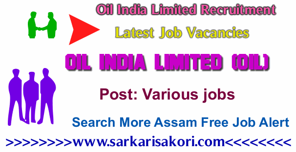 Oil India Limited Recruitment 2017 various vacancies