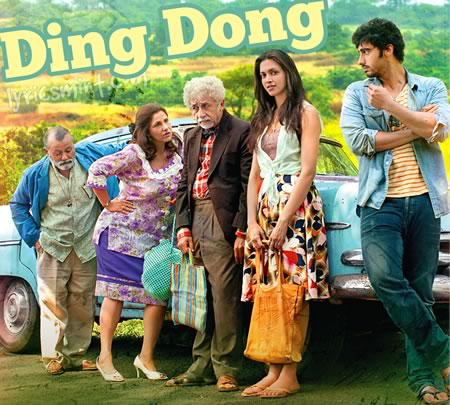 DING DONG LYRICS - Finding Fanny (English Song)