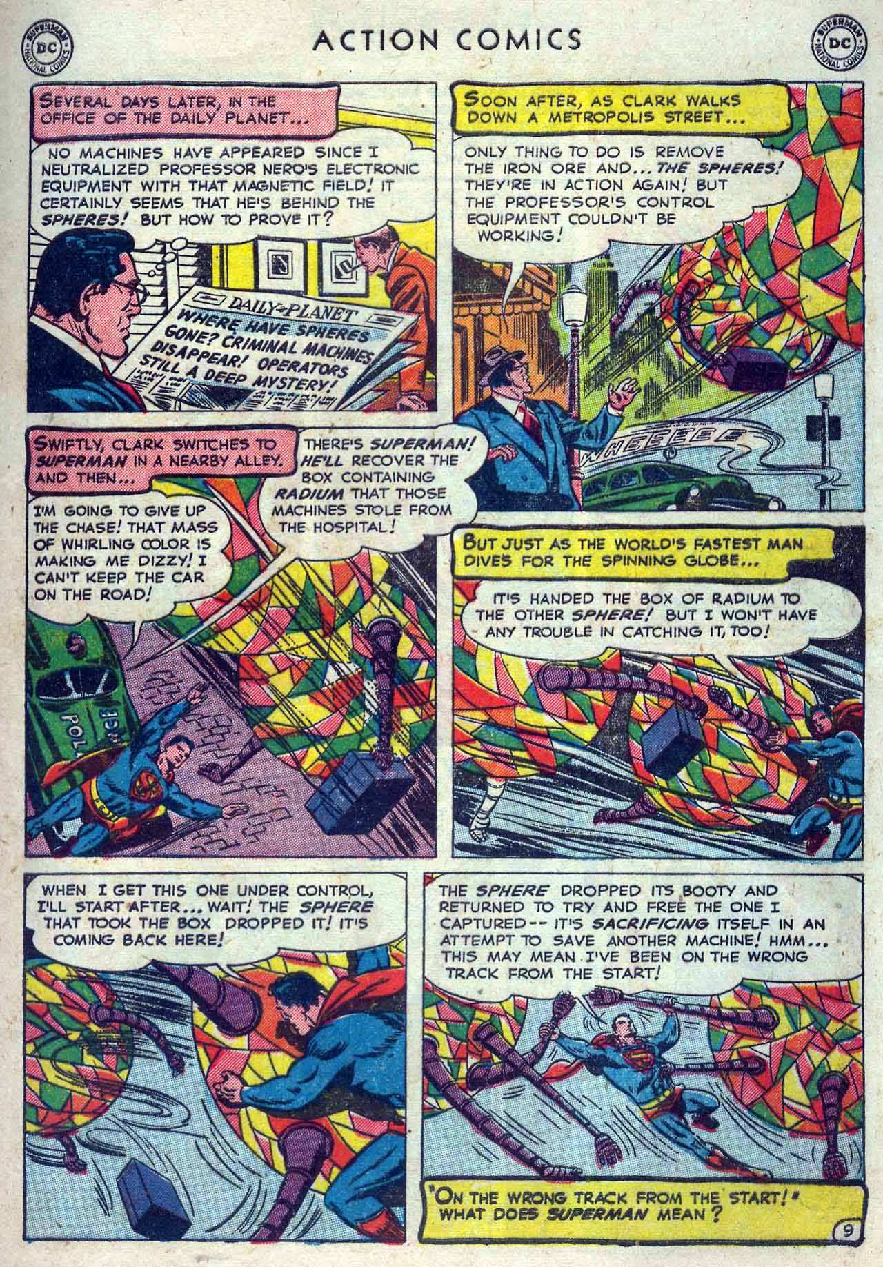 Read online Action Comics (1938) comic -  Issue #167 - 11