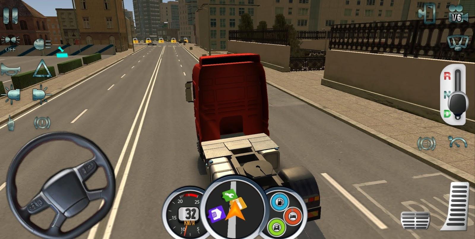 Euro Truck Driver 2018 Mod Apk Version 2 2 Unlimited Money