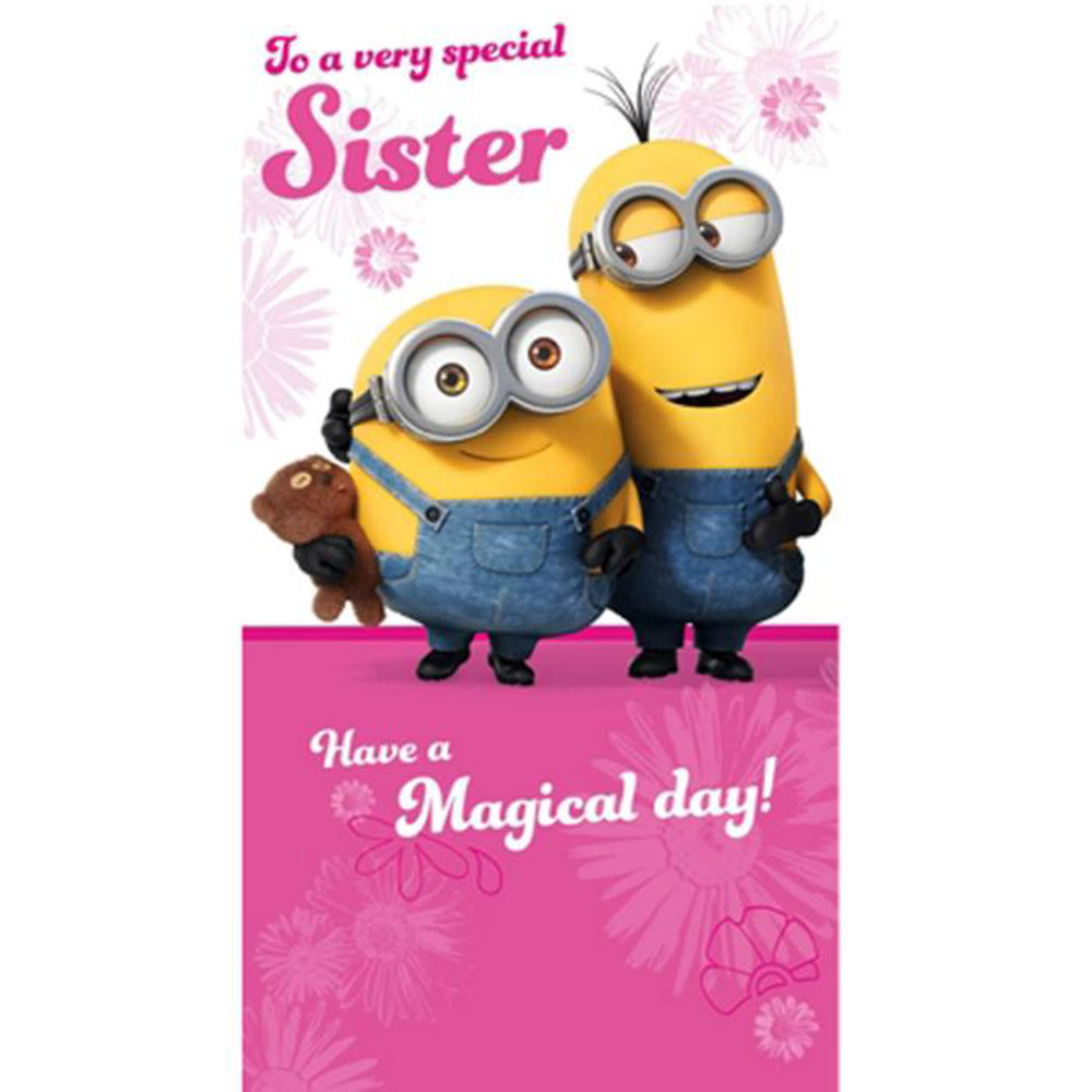 birthday wishes from minions