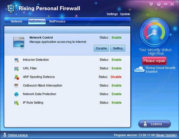 Rising Personal Firewall Download Free