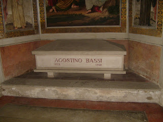 Agostini Bassi's tomb in the church of San Francesco