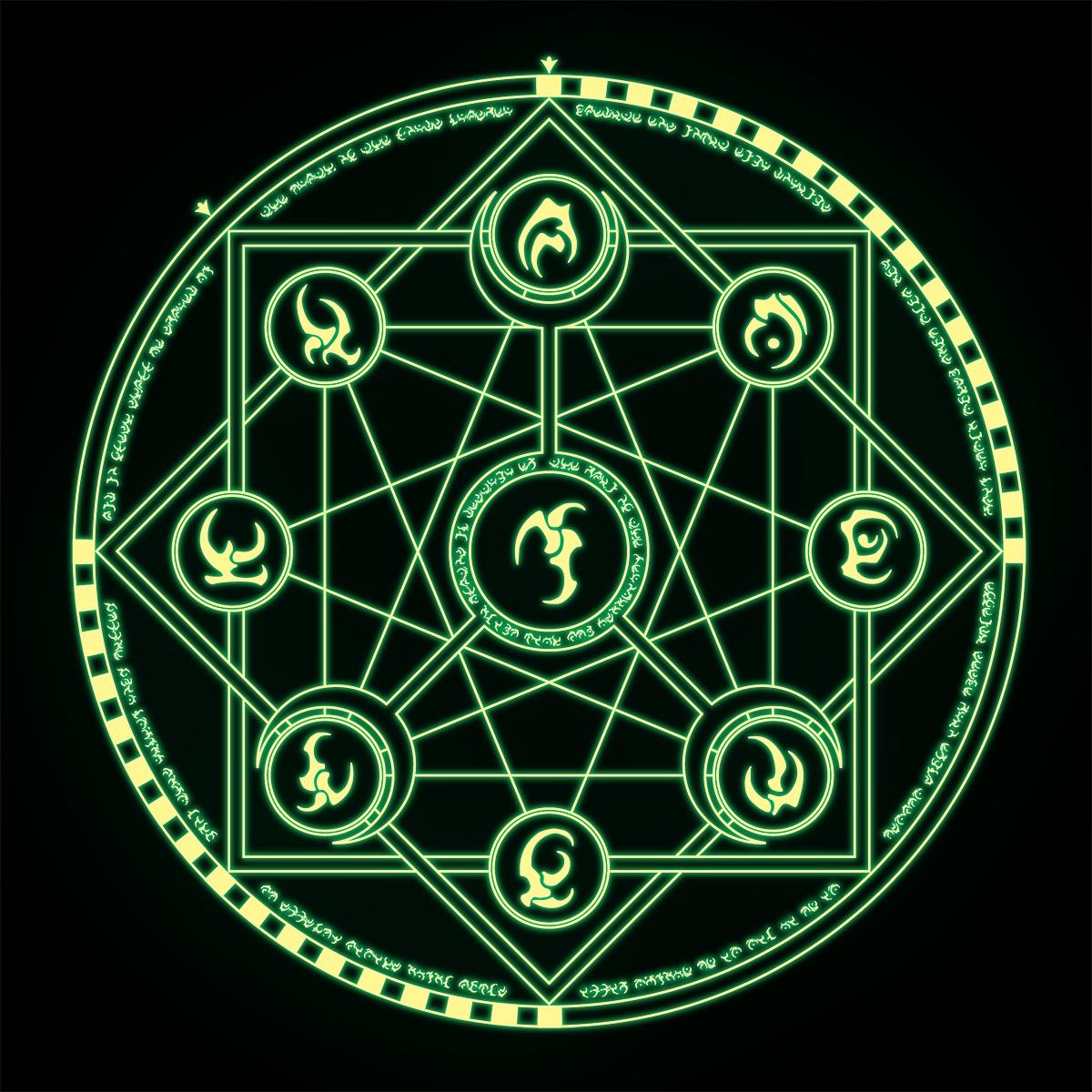 Magi Anime Wallpaper Propnomicon Magic Circle