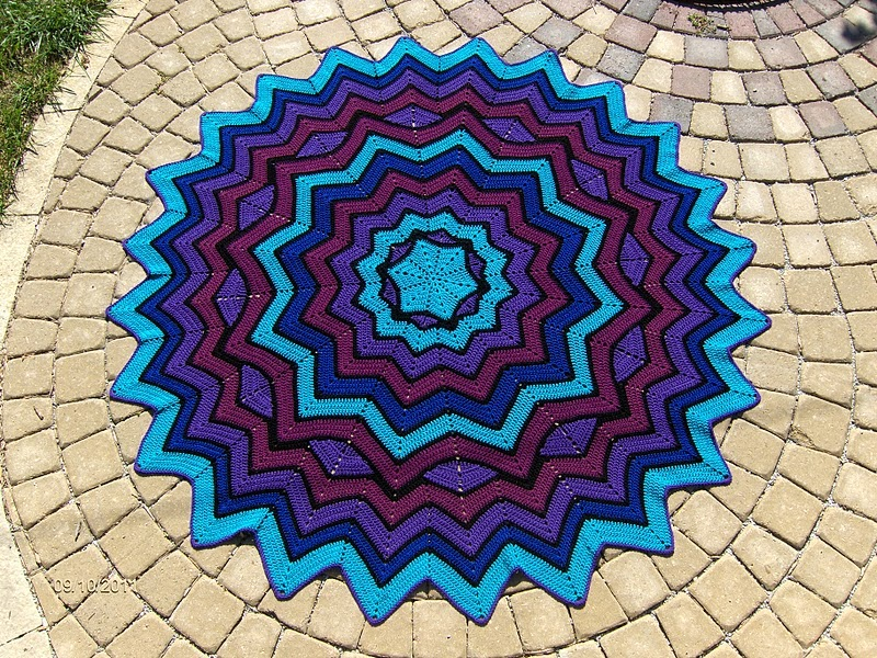Crochet Afghan Carpet Photos Patterns And Video