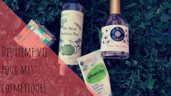Comment recycler nos produits beauté détestés?!