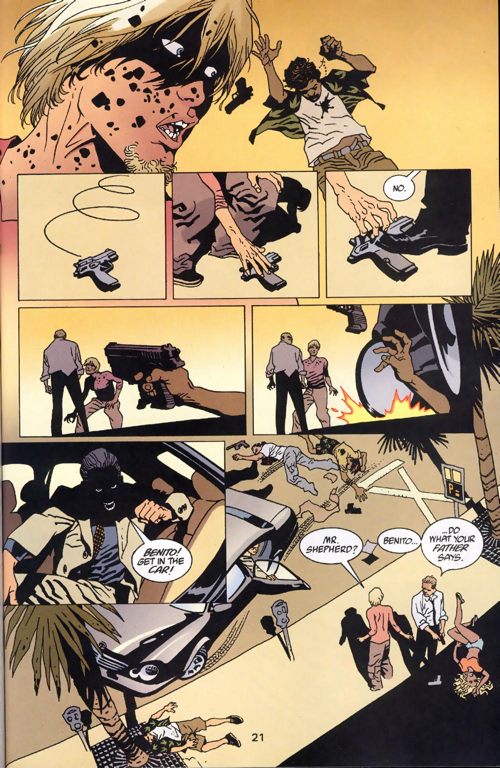 Read online 100 Bullets comic -  Issue #39 - 23