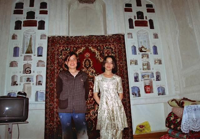 Ouzbékistan, Boukhara, Nargiza, Rushana, © L. Gigout, 2010