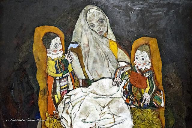 Egon Schiele: Madre III - Belvedere Museum, Viena por El Guisante Verde Project