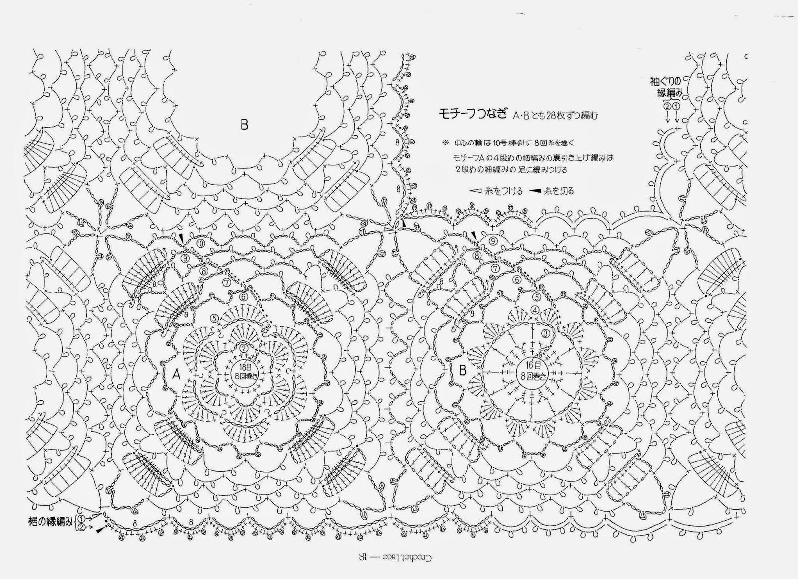 Free Crochet Rose Diagram Everything About Wiring Flower With Buddiagram Pinterest Crochetology By Fatima Irish Bebe Lace Motif Shrug Tutorial Diamond
