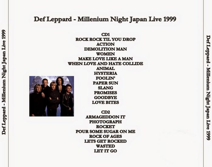 Rock Anthology: Def Leppard - Millenium Night Japan Live