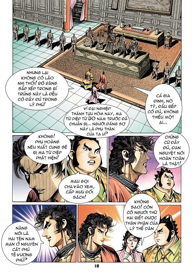 Đại Đường Uy Long chapter 70 trang 18