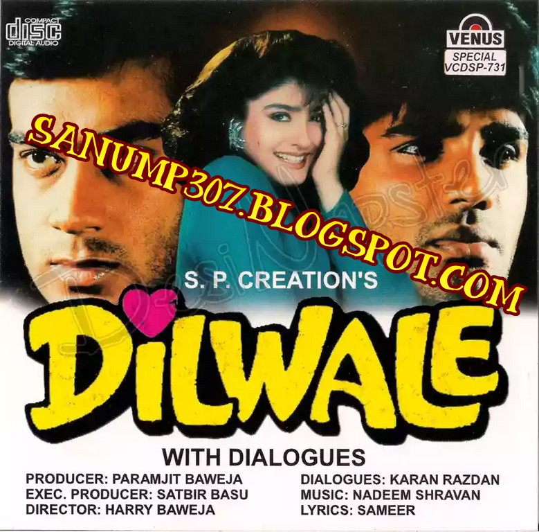 Kumar Sanu All Mp3 Song: Dilwale 1994 320-Kbps CBR Mp3 (OST)